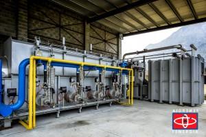 Impianto Pirolisi 1000 kg/h